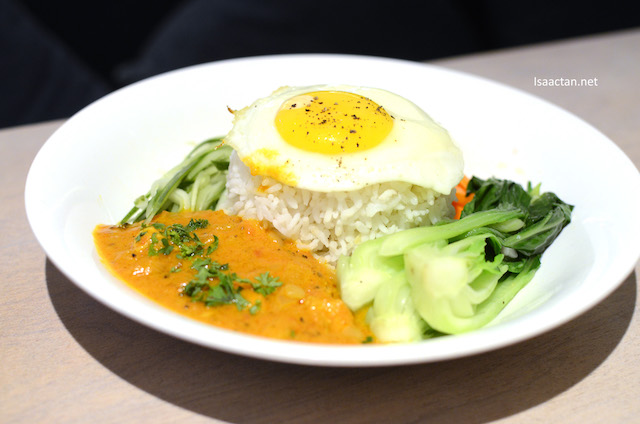 Marsala Butter Chicken Rice Plate, RM17