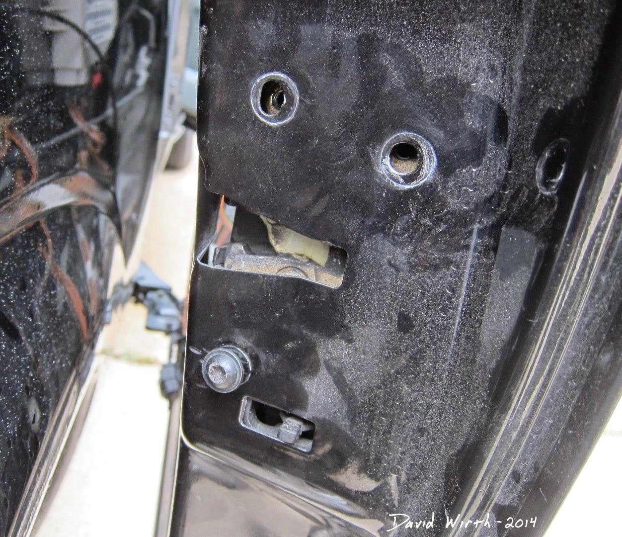 remove sliding minivan door lock bracket metal won t lock [ 1252 x 1080 Pixel ]