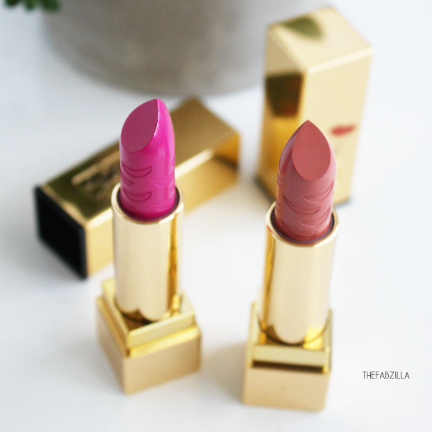 YSL ROUGE PUR COUTURE KISS & LOVE LIMITED EDITION, Le Nu, Le Fuchsia, review, swatch, fall 2015 ysl beauty