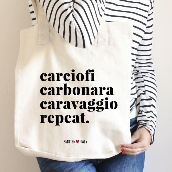 Rome Themed Tote Bag