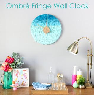 http://www.akailochiclife.com/2016/03/diy-it-ombre-fringe-wall-clock.html