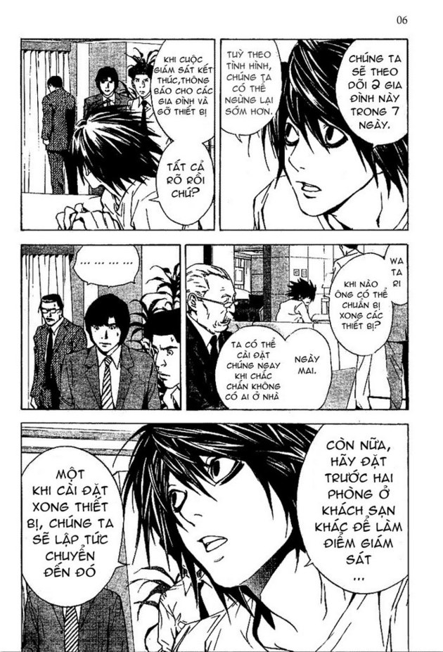 Death Note chapter 016 trang 7