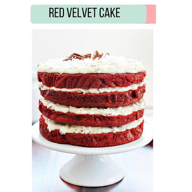 Learn baking - Red Velvet cake