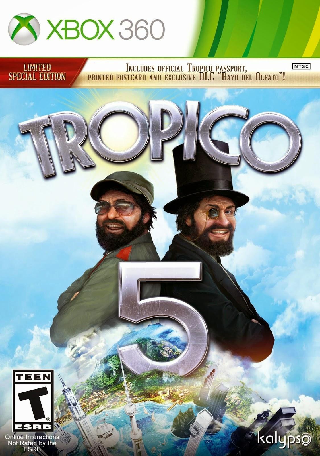 Tropico 5 XBOX360 free download full version