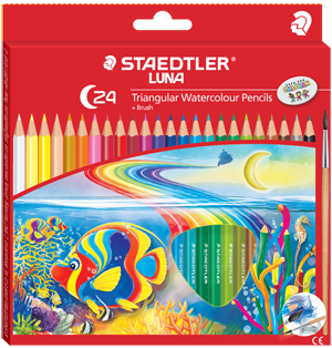 Staedtler Luna Tringular Watercoloured