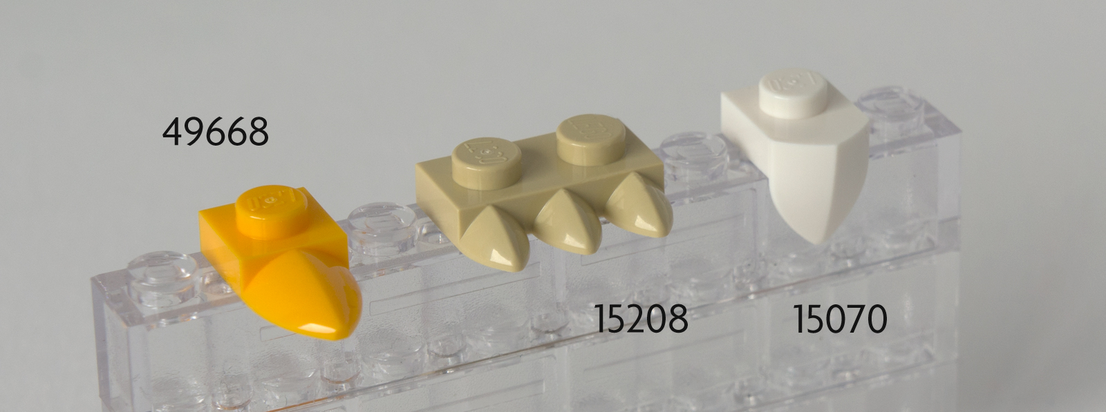 NEW LEGO Part Number 15070 in a choice of 3 colours