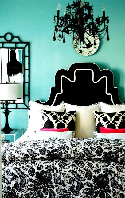 El color turquesa en decoraci n decoguia tu gu a de for Corredor deco blanco y gris