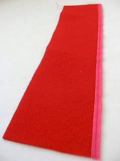Фетровый органайзер-сумочка