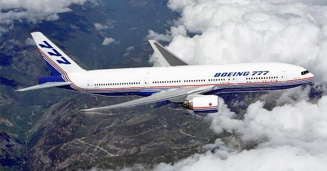 Boeing 777 pesawat jet terbesar dengan mesin kembar