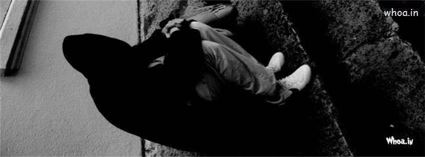 """""""Trầm cảm"""" bộ ảnh bìa Facebook tình yêu buồn con trai"""