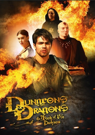 Poster Of Dungeons & Dragons: The Book of Vile Darkness 2012 In Hindi Bluray 720P Free Download