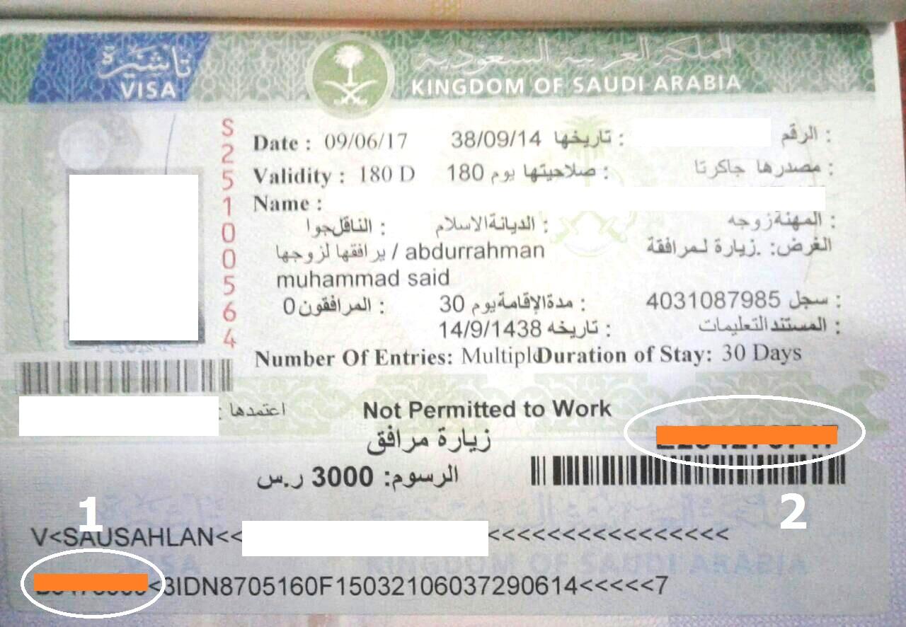 Cara Cek Visa Ke Arab Saudi