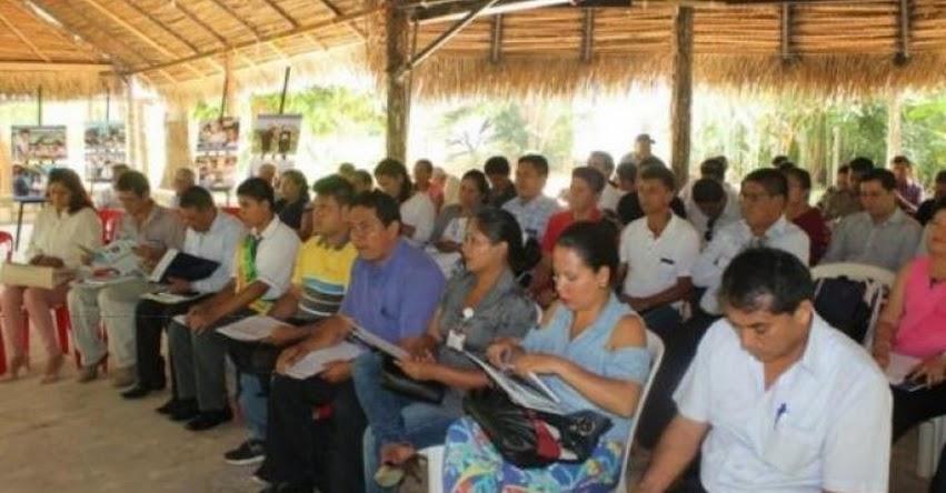Lamas es modelo de gestión educativa descentralizada en la región San Martín