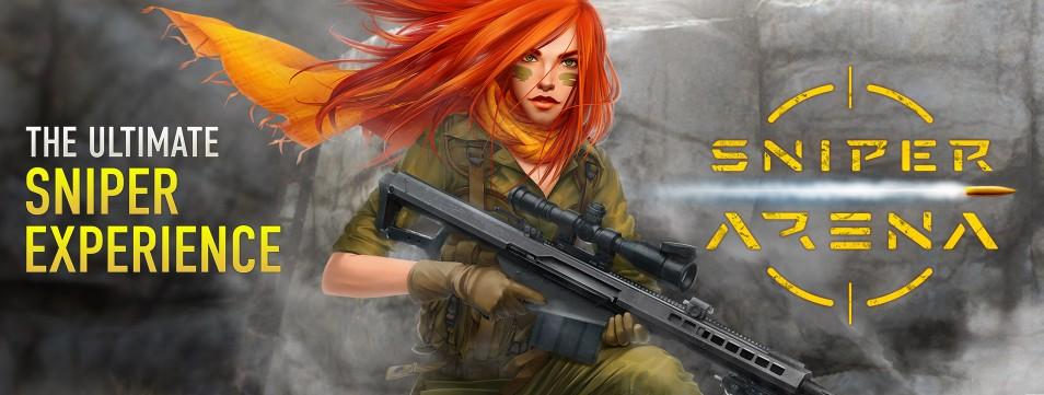 مطلق النار الأكثر إثارة 'قناص مقابل قناص' أدخل الساحة Sniper Arena: PvP Army Shooter