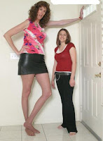 Beautiful tallest models