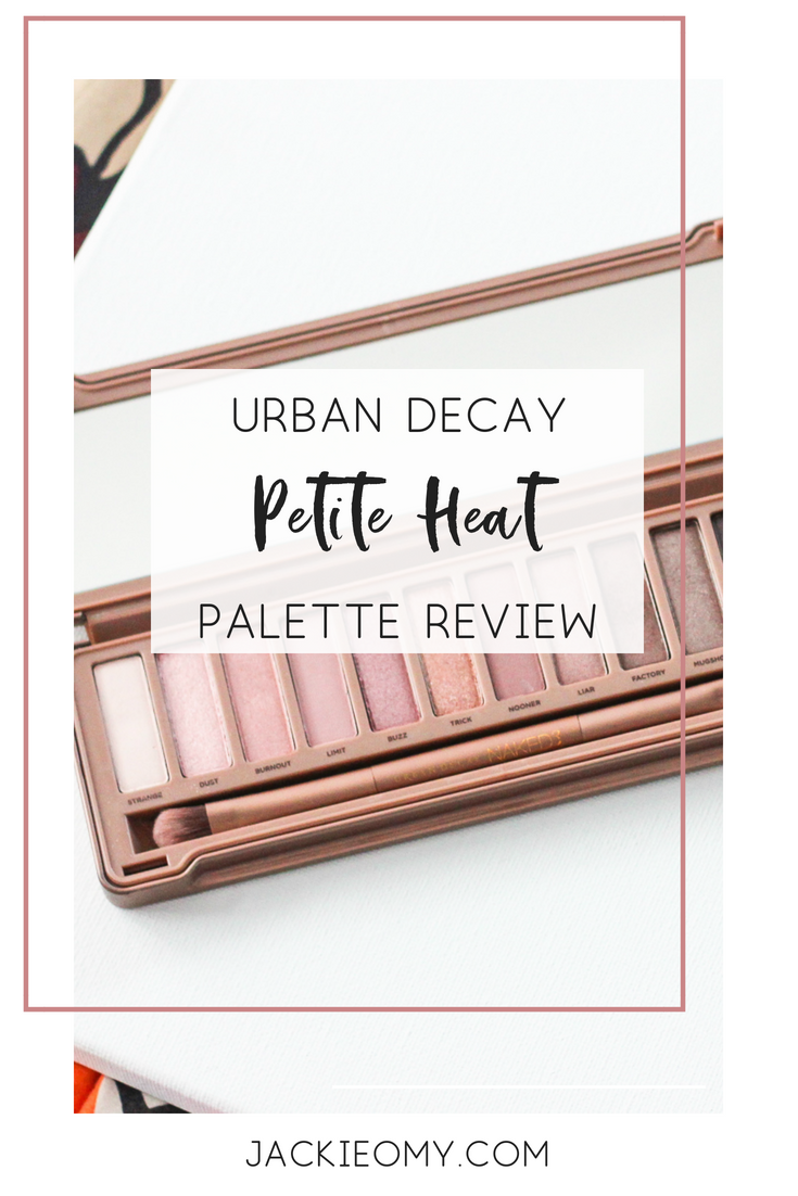Urban Decay Review 2: Naked Petite Heat Palette | Jackie O My