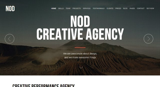 NOD – Business Landing Page HTML Template