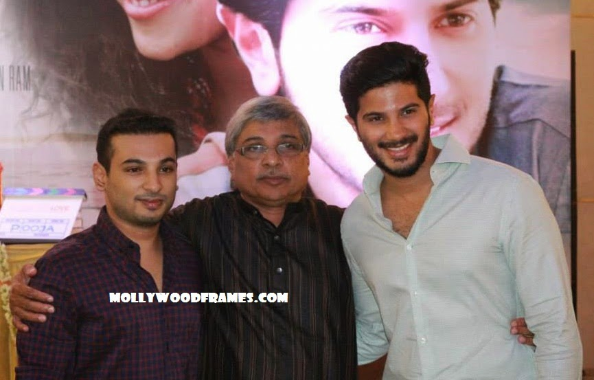 Dulquer with Jenuse Mohammed in '100 Days of Love' movie