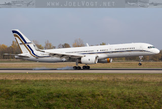 Boeing 757-200 SX-RFA of GainJet