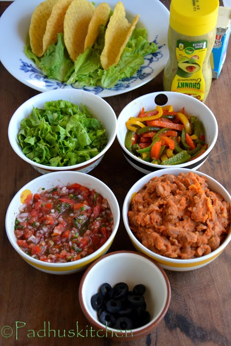 how to make vegetarian taco filling