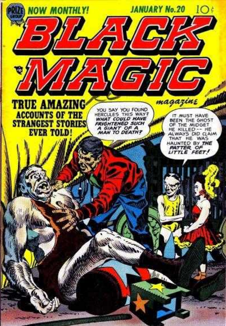 Jack Kirby Black Magic
