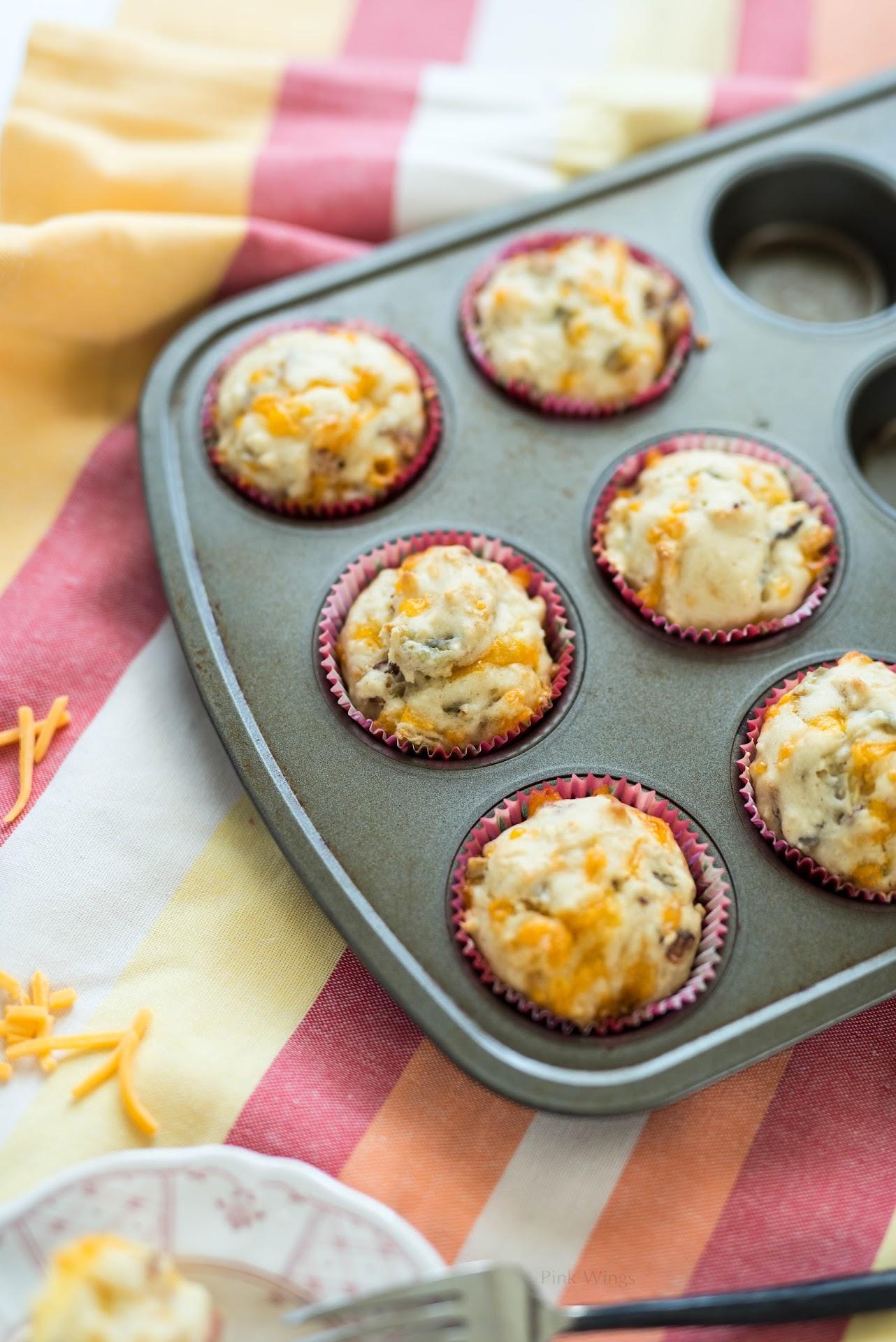 savory muffins, bacon recipe, man breakfast, on the go breakfast ideas, road trip snacks