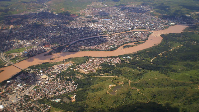 Vista aérea de Governador Valadares - Minas Gerais