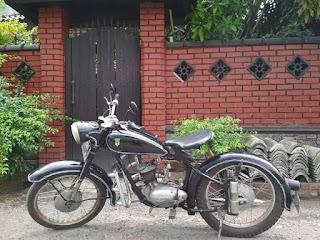 Dijual Motor Tua dkw union 125cc