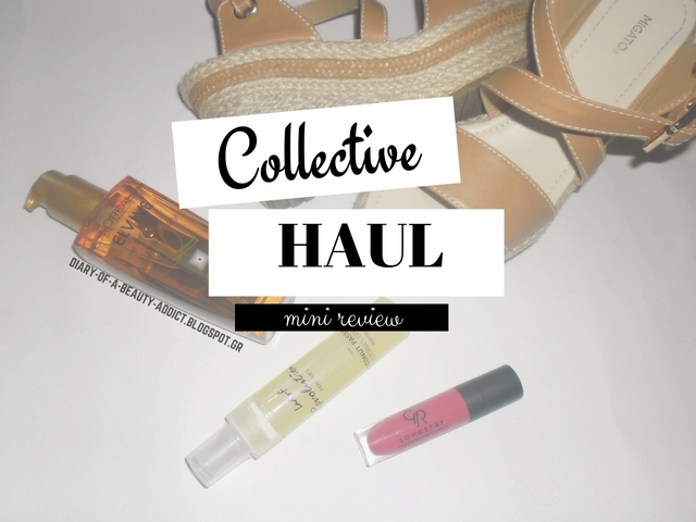 Collective Haul & Mini Review