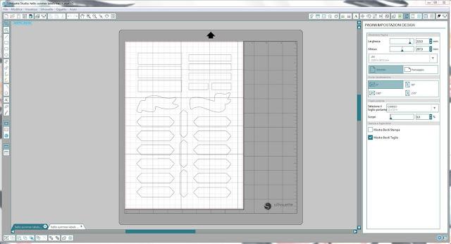 Come utilizzare i file dxf nella modalità Print & Cut | Silhouette Cameo 2