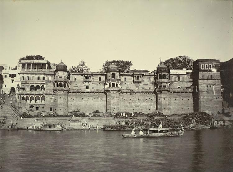 Rana Mahal Ghat - Benares (Varanasi) 1905