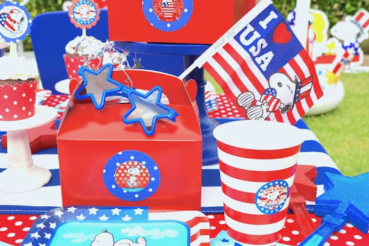 LAURA'S little PARTY: Patriotic party ideas for kids