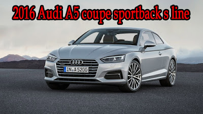 audi a5 coupe 2016 sportback black s line,price and for sale