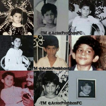 Prabhas Childhood Photos Collection