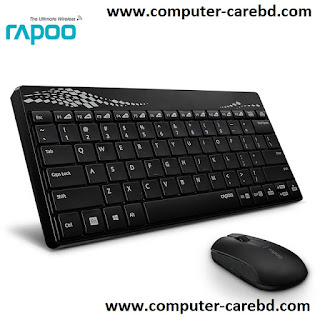 Rapoo 8000 Wireless Keyboard images