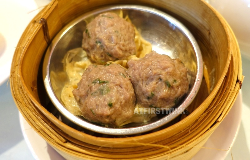 Dim Sum lunch at Full Moon City The Hague beef meat balls water chestnut