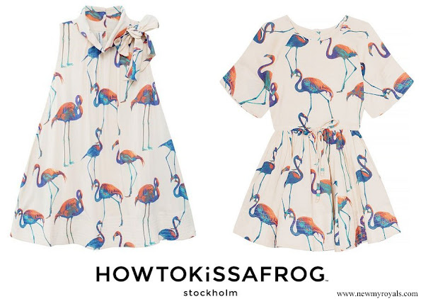 Princess Leonore wore Howtokissafrog Cate Flamingo Dress