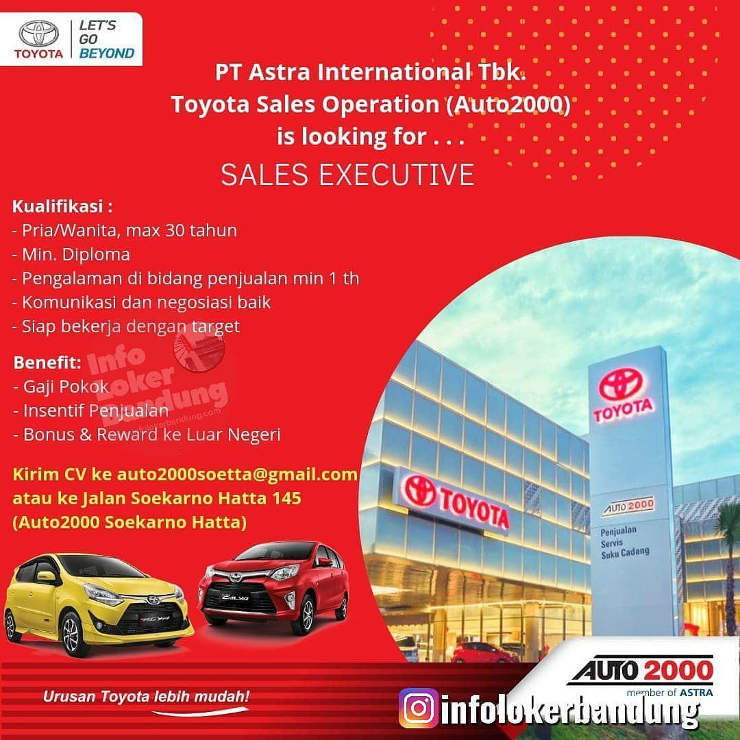 Lowongan Kerja PT. Astra International Tbk ( Auto 2000) Soekarno Hatta Bandung April 2019