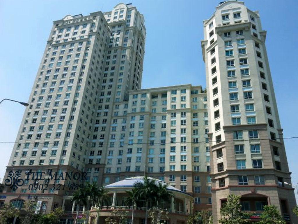 Bán căn hộ chung cư The Manor 1 Bình Thạnh 101m2 - tòa nhà the manor 1