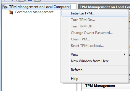 The Wonderful World of A Nerdy Mummy: Enabling a TPM Chip in