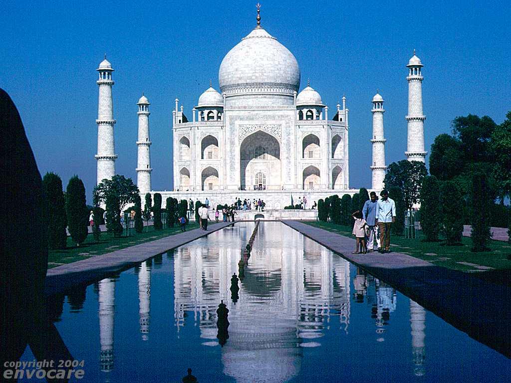 Taj Mahal Full Size Wallpaper Free Download