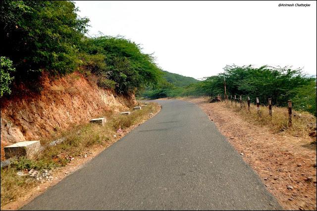 Way to Magalagiri-Vijayawada