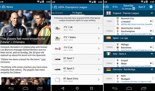 Live Soccer TV - App Streaming Bola Android Gratis