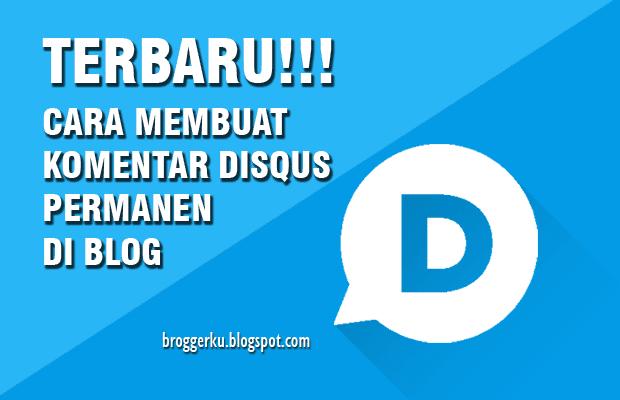 [Update] Cara Memasang Komentar Disqus di Blog Blogger 2019