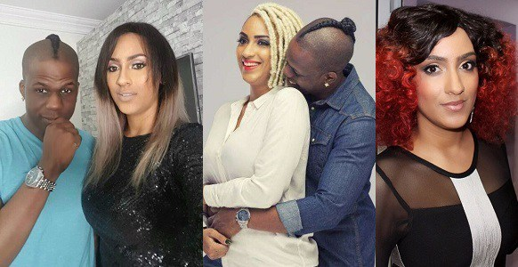 Juliet Ibrahim as she turns a year older, Iceberg Slim celebrates with her