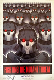 Sentinels are the mutant hunting robots designed and developed by Boliver Trask Industries in X Men Days of Future Past