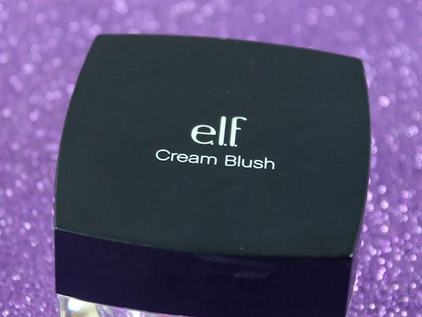 ELF Cream Blush - Seductress Swatches & Review