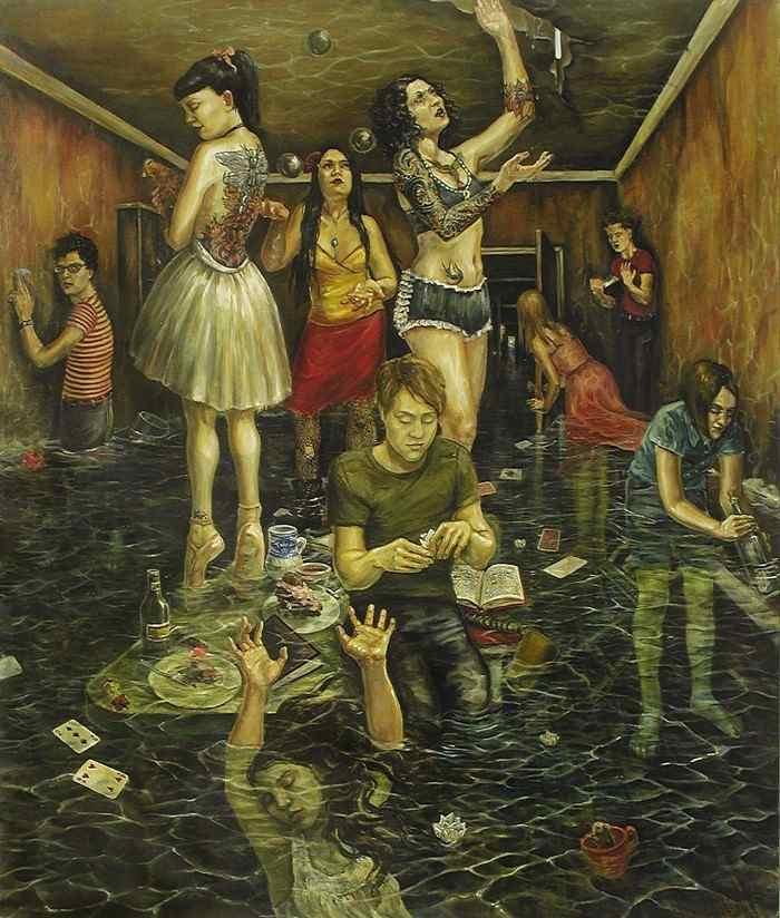 Американский художник. Erin Whitman
