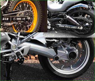 sistem penggerak sepeda motor, final drive motor