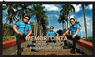 Lirik Lagu Nahanson Trio -  Memori Cinta